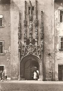 BRNO - portál staré radnice