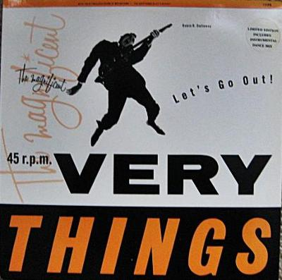 The Very Things – Let's Go Out! (LP)