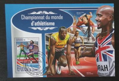 Guinea 2017 CTO aršík, Mistrovství atletiky, sport