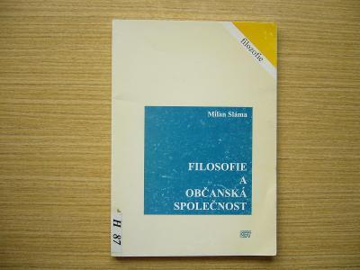 Milan Sláma - Filosofie a občanská společnost | 1999 -a