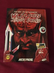 KLINGON HONOR GUARD PC BIG BOX+SLOVENSKY MANUAL