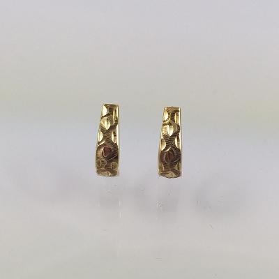 Náušnice zlaté 1,41 g Au (585/1000) A 243