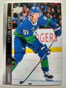 Tyler Myers #177 Vancouver Canucks 2020/21 Upper Deck