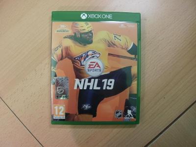 Hra na XBox ONE - NHL 19 - České titulky