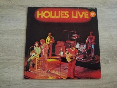 Hollies - Live - Top Stav - Polydor Germany - 1976 - LP BUS STOP