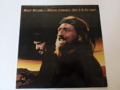 Willie Nelson - Take it to the limit -top stav- ČSSR 1985 LP
