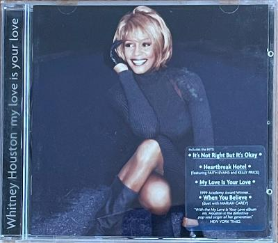 CD Whitney Houston – My Love Is Your Love, VG