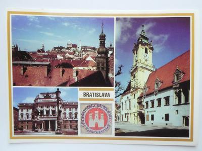 BRATISLAVA - hrad - divadlo