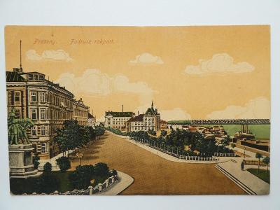 Bratislava - Pozsony - Fadrusz rakpart 1919