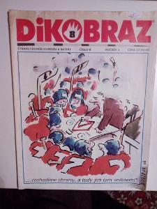 Časopis Dikobraz, č. 8, zachovalý stav