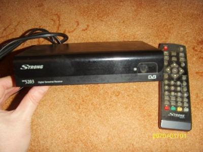 STRONG SRT 5203 DVB-T přijímač s USB vstupem a ovladačem