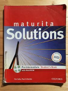 Maturita Solutions Pre-Intermediate Student´s book Tim Falla, Paul Dav