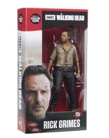 The Walking Dead / Živí mrtví - figurka 17 cm Rick Grimes