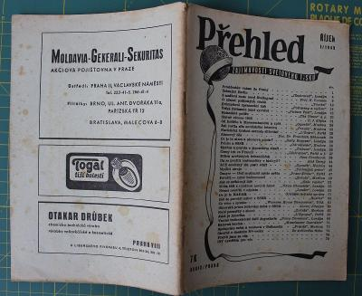 PŘEHLED ZAJÍMAVOSTÍ SVĚTOVÉHO TISKU říjen 1945