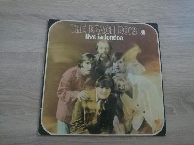 The Beach Boys - Live In London - Výborný Stav - Holland - 1970 - LP