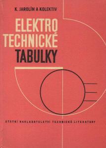 Karel Jarolím - Elektrotechnické tabulky