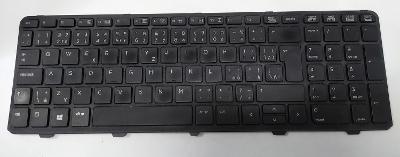 HP ProBook 450 G1 - klávesnice na díly /S1213/