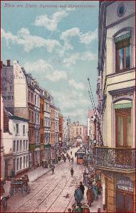 Köln am Rhein * ulice, lidé, obchody * Německo * Z1561