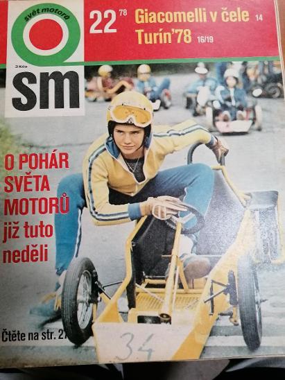 Časopis Svět Motorů 1978 č 22 - Motoristická literatura