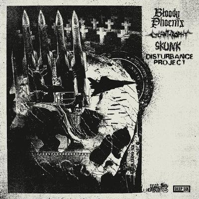 LYCANTHROPHY / BLOODY PHOENIX / SKUNS / DISTURBANCE PROJECT split LP