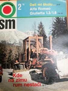 Časopis Svět Motorů 1978 č 2