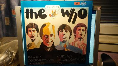 LP The Who - The Best Of (1985, Supraphon/Polydor)