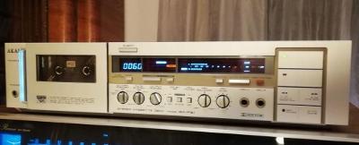 AKAI GX-F51 TOP stereo cassette deck player/kazetovy magnetofon