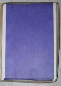 propisovací papír kopírák modrý
