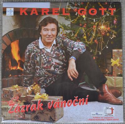 LP KAREL GOTT 1995 - Zázrak vánoční