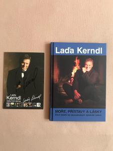 Láďa Kerndl - Moře, přístavy a lásky + fotografie s autogramem