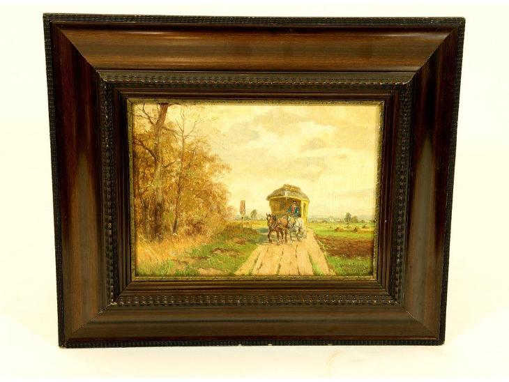 Obraz, Poštovní vůz - Umění