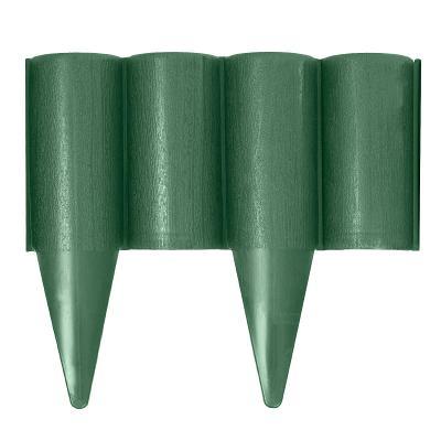 Zahradní palisáda sada 2,5 m Stella Green 0111 v zelené barvě
