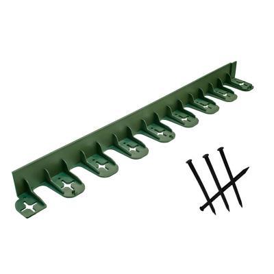 Sada 4 elastických lemů Stella 75 x 4,5 cm v zelené barvě + 12 kotev
