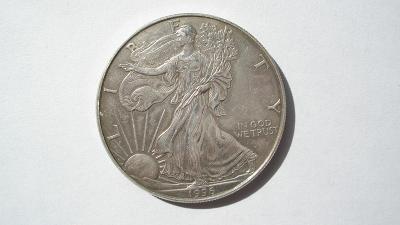 USA 1 Unce 1 dolar 1996