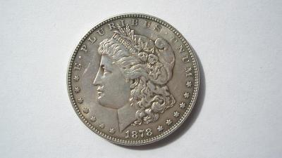 USA 1 dolar 1878