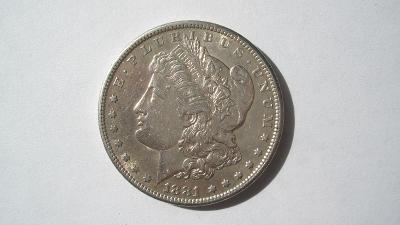 USA 1 dolar 1881 S
