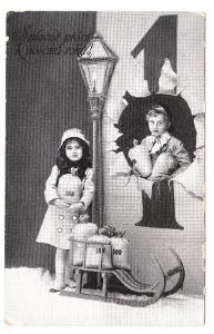 Přání - Nový rok 1915