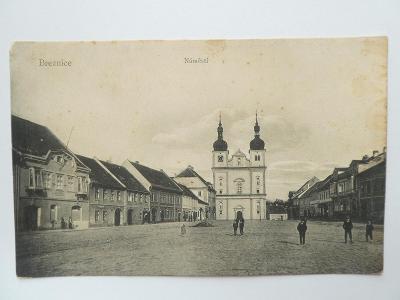 Březnice, okr. Příbram - Náměstí 1908