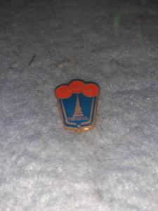 Odznak Dukla Trnava -  lední hokej  - modročervená varianta