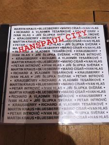 CD HANSPAUL CITY (RARITA!! HLAS, KRAUS, TESAŘÍKOVÉ, KRAUSBERRY)