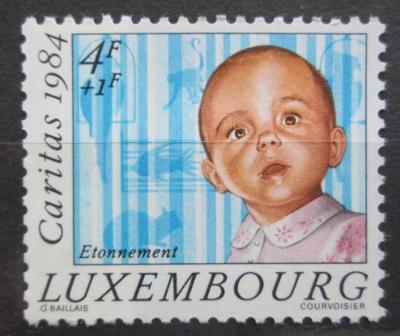 Lucembursko 1984 Malé dítě Mi# 1112 0094