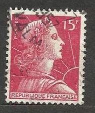 Francie razítkované, r. 1955, Mi.1036