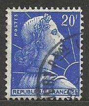 Francie razítkované, r. 1957, Mi.1143