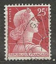 Francie razítkované, r. 1959, Mi.1226