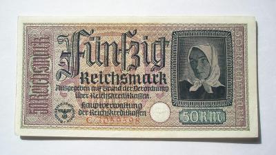 Německo Riechskreditkasen 50 marka série C