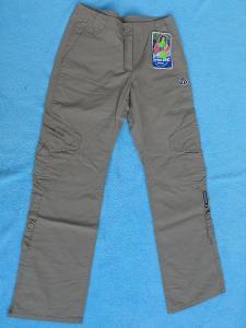 NOVÉ - Značkové dámské béžové kalhoty S + Dárek