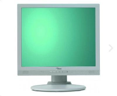 """LCD MONITOR FUJITSU SIEMENS 17"""" A17-2A REPRO + KABELY"""