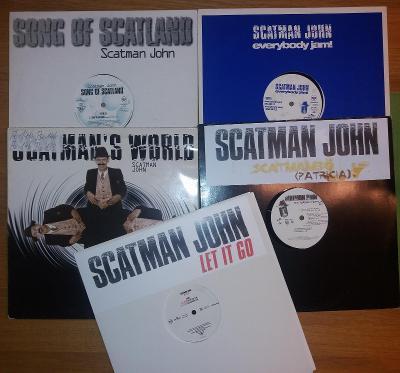 LP 5x Maxisingl SCATMAN JOHN - SUPER HITY!!!!!