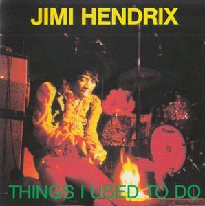 CD JIMI HENDRIX - THINHGS I USED TO DO