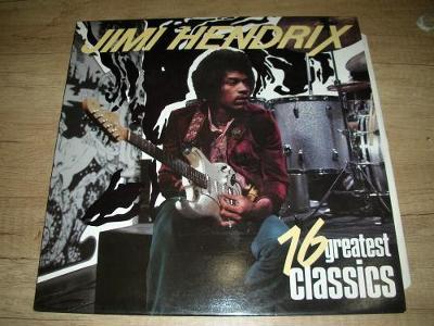 Jimi Hendrix – 16 Greatest Classics (1988) TOP STAV!!!